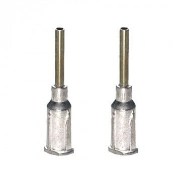 Techcon Aluminium-Dosiernadeln TS15-1/2M-500, Größe 15, 12,7 mm (500 Stück)
