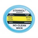 Stannol No-Clean Ablötlitze NC-AA, 1,5 mm, 1,5 m