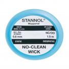 Stannol No-Clean Ablötlitze NC-OO, 0,8 mm, 1,5 m
