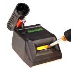 clean-o-point Lötspitzenreinigungsgerät 2985 stop +go antistatisch, schwarz, 230 V