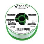 Stannol Lötdraht KS115 FLOWTIN TSC, Sn95,5Ag3,8Cu0,7+ML, 0,5 mm, 3,0%, 250 g
