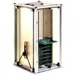 ESD Leiterplattenmagazin 601.3 (Metall), montiert, 355 x 320 x 563 mm