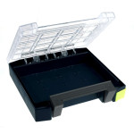 Raaco Sortimentskoffer boxxser 55 4x4-0, leer, blau