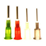Techcon Dosiernadeln TE714050-1000, Größe 14, oliv, 12,7 mm (1000 Stück)
