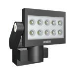 Steinel Funk-LED-Strahler XLed-FE 10, schwarz, ca. 30 W