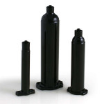Nordson EFD Dosierkartuschen Optimum® mit Stopfen, schwarz, 180 ml (250 Stück)