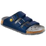ALPRO Damen-/Herren-Pantolette ProTec P 300 ESD, schmale Form, blau