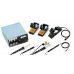 Weller Reparaturstation WR 3000M digital mit Set HAP200/DSX80/WP80, 420 Watt, 230 V